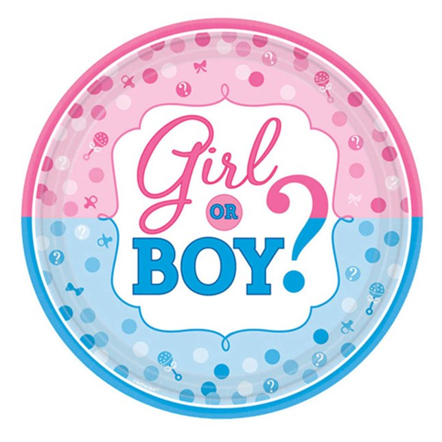 Gender Reveal Standard Foil Balloon