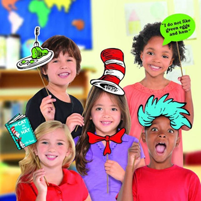 Dr Seuss Photo Prop Kit