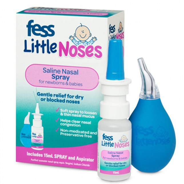 FESS Little Noses Spray + Aspirator 15ml