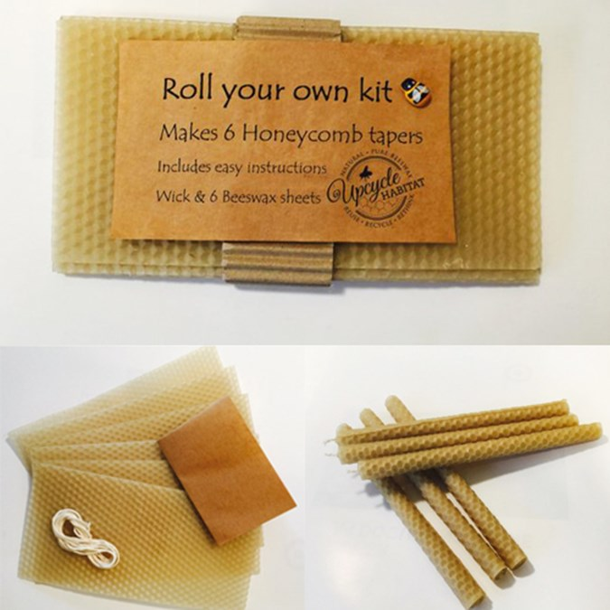 DIY Beeswax Candle Making Kit - 6 Pack