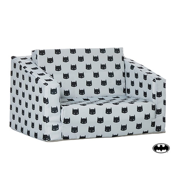 Kids Fold Out Couch.Kids Grey And Black Batman Flip Out Sofa