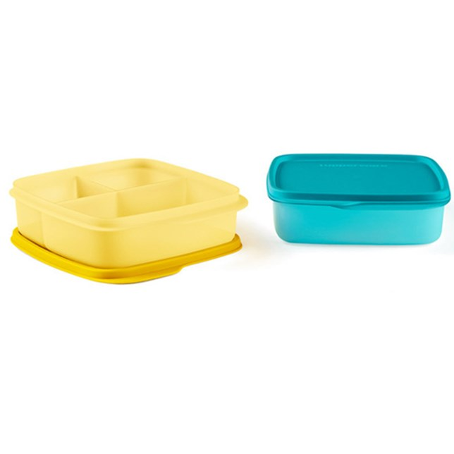 Divided Square Lunch Box