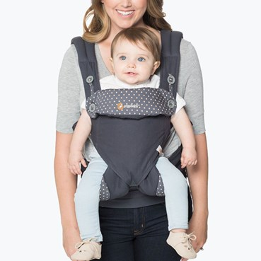 ergo0002 - Ergobaby 360 Baby Carrier: Dusty Blue