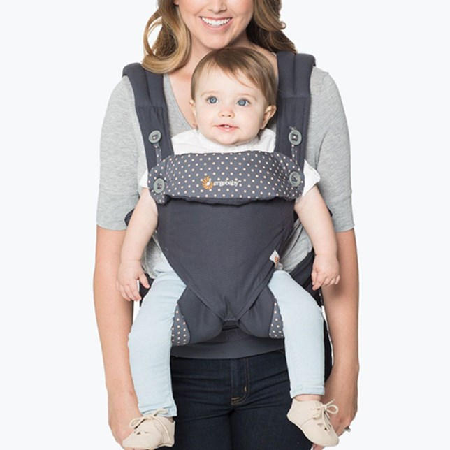 360 Baby Carrier: Dusty Blue