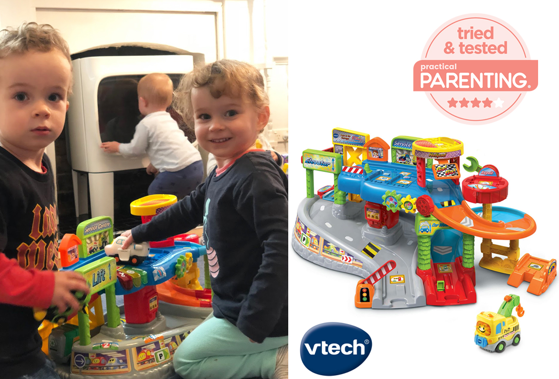 V Tech Garage : Vtech toot toot drivers garage review a mum twin s a toddler s