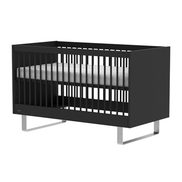 Kidsmill Cot in black, Intense Collection