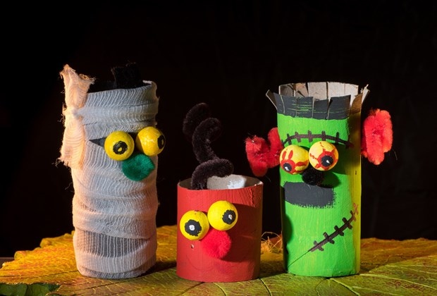 Halloween Craft Ideas For Kids Using Recycled Materials Practical