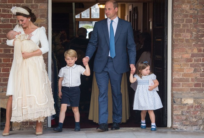 Little Prince Louis and Charlotte (and Daddy, William!) have chart-topping names.